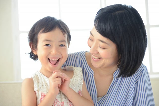 子供と会話